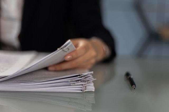 posegregowane dokumenty
